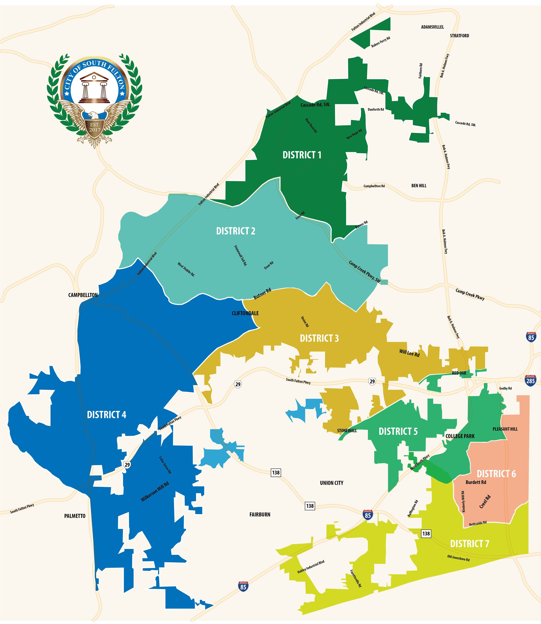 COSF - District Map 3-01