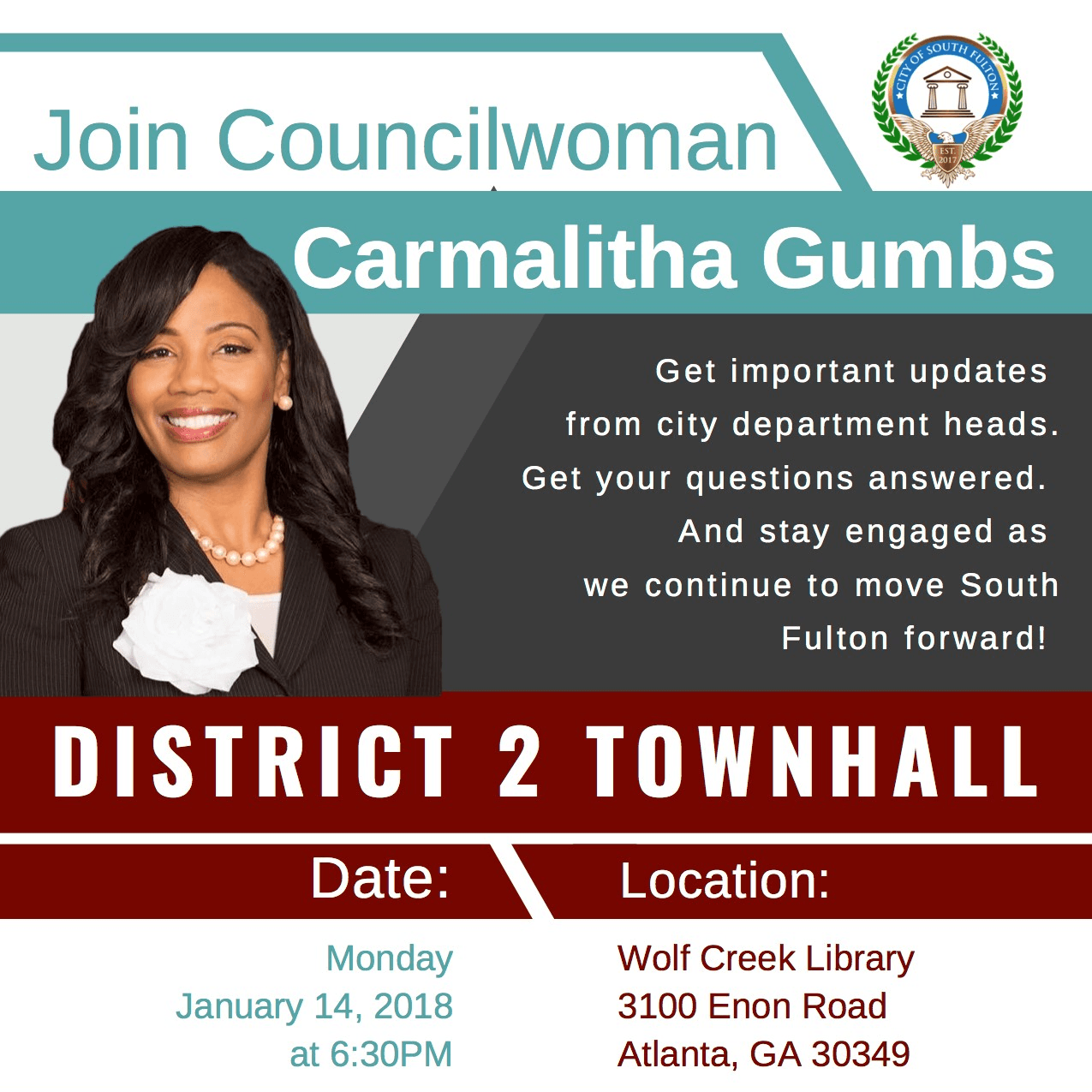 District 2 townhall January cropped